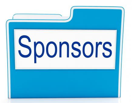 Free Stock Photo of File Sponsors Represents Promotes Supporter And Promoter