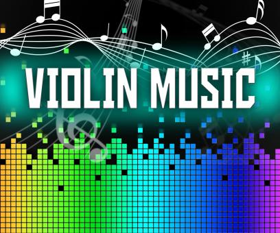 Free Stock Photo of Violin Music Indicates Sound Track And Acoustic