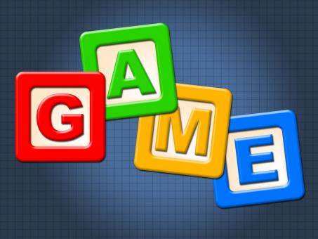 Free Stock Photo of Game Kids Blocks Shows Gamer Leisure And Children
