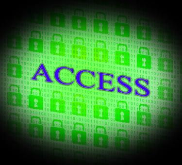 Free Stock Photo of Security Access Represents Protect Encrypt And Accessible