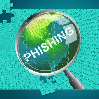 Free Stock Photo of Phishing Magnifier Represents Malware Hacker And Hacked
