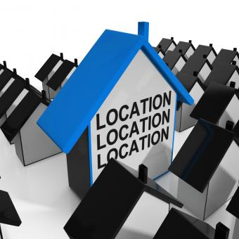 Free Stock Photo of Location Location Location House Means Situated Perfectly