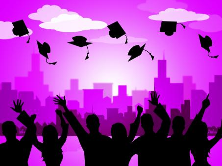 Free Stock Photo of Celebrate Graduation Indicates Party School And Develop