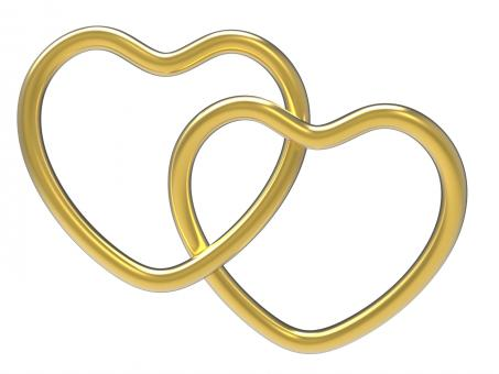 Free Stock Photo of Wedding Rings Indicates Valentine Day And Eternity