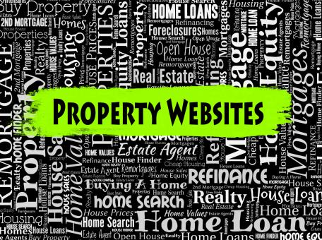 Free Stock Photo of Property Websites Indicates Real Estate And Apartment