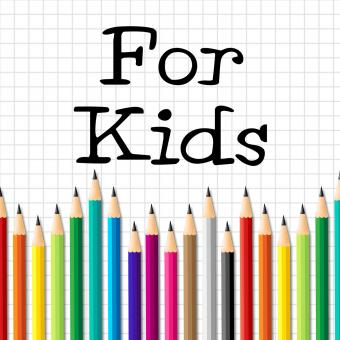 Free Stock Photo of For Kids Pencils Indicates Youngsters Learn And Education