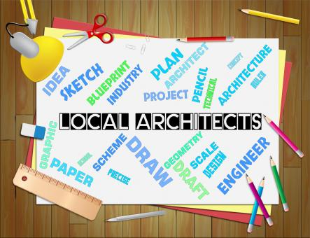 Free Stock Photo of Local Architects Means Designer Jobs And Locally