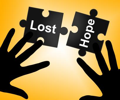 Free Stock Photo of Lost Hope Shows Stop Trying And Wanting