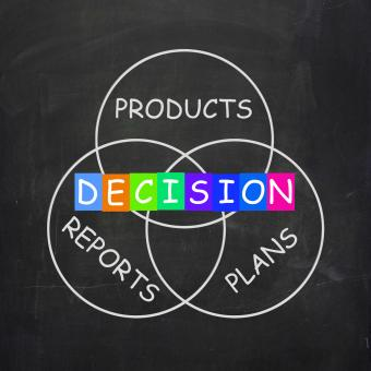 Free Stock Photo of Deciding Means Decision on Plans Reports and Products