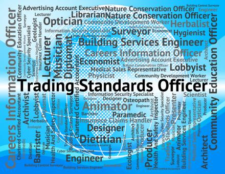 Free Stock Photo of Trading Standards Officer Represents Officers Position And E-Commerce