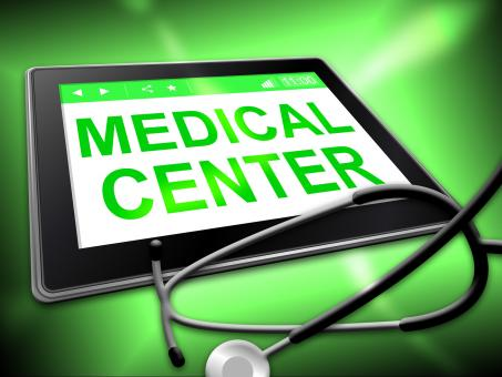 Free Stock Photo of Medical Center Represents Internet Hospital And Clinics