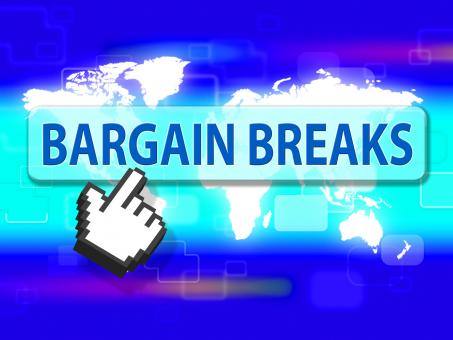 Free Stock Photo of Bargain Breaks Indicates Short Vacation And Sales
