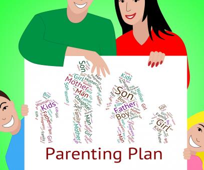 Free Stock Photo of Parenting Plan Represents Mother And Child And Childhood
