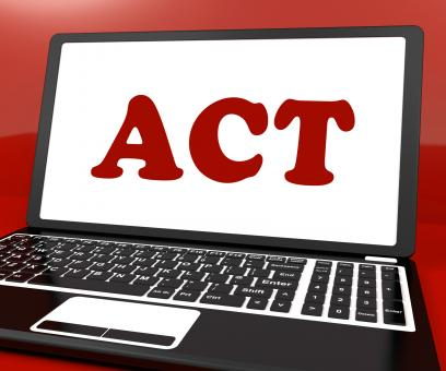 Free Stock Photo of Act On Laptop Shows Motivate Inspire Or Performing