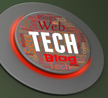 Free Stock Photo of Tech Button Indicates High-Tech Pushbutton And Technology