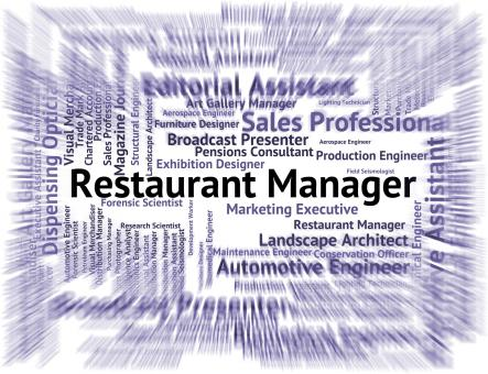 Free Stock Photo of Restaurant Manager Indicates Supervisor Employer And Restaurants