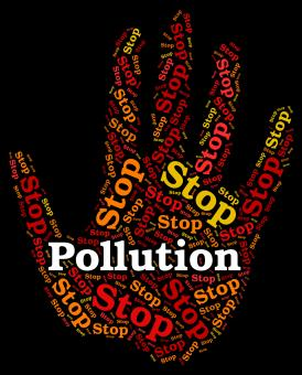 Free Stock Photo of Stop Pollution Represents Air Polution And Caution