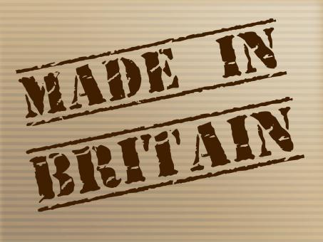 Free Stock Photo of Made In Britain Indicates Export Commercial And British