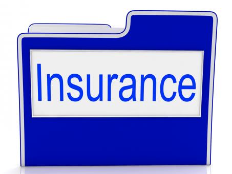Free Stock Photo of File Insurance Represents Folders Administration And Insure