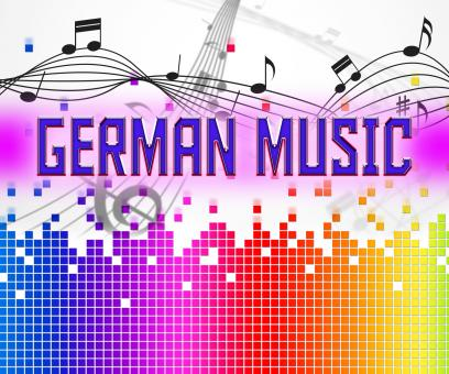 Free Stock Photo of German Music Represents Sound Track And Deutsche