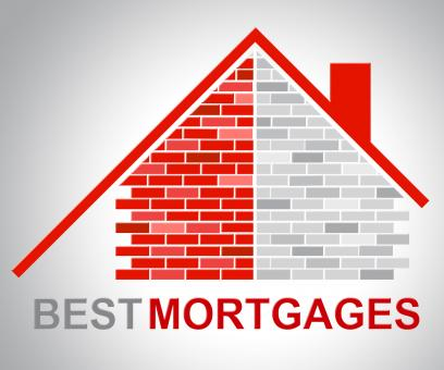 Free Stock Photo of Best Mortgages Represents Real Estate And Better