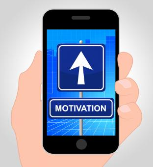 Free Stock Photo of Motivation Smartphone Means Do It Now And Act