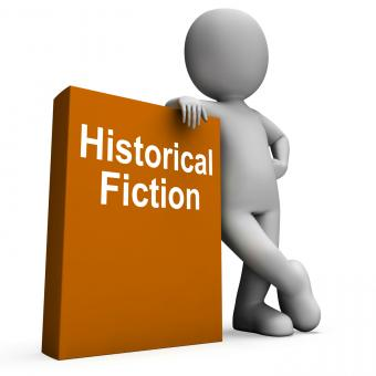 Free Stock Photo of Historical Fiction Book And Character Means Books From History