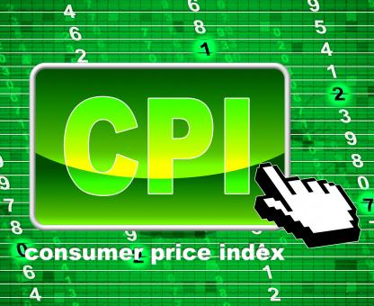 Free Stock Photo of Consumer Price Index Represents Web Site And Website