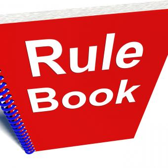 Free Stock Photo of Rule Book Policy Guide Manual