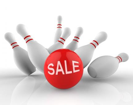 Free Stock Photo of Bowling Sale Represents Ten Pin And Activity 3d Rendering