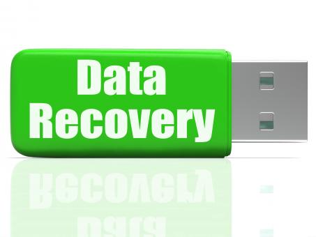 Free Stock Photo of Data Recovery Pen drive Means Safe Files Transfer Or Data Recovery