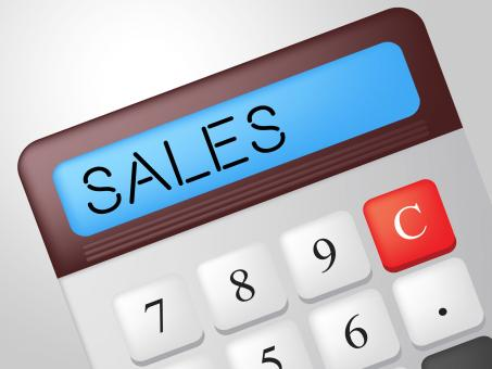 Free Stock Photo of Sales Calculator Indicates Market Calculate And Marketing