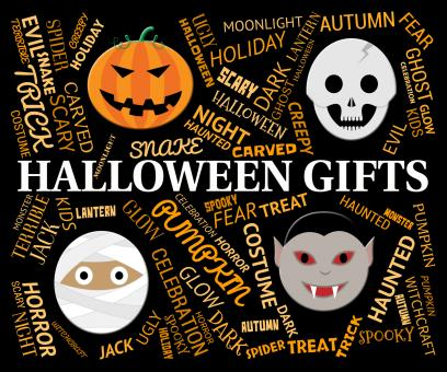 Free Stock Photo of Halloween Gifts Indicates Trick Or Treat And Celebrate