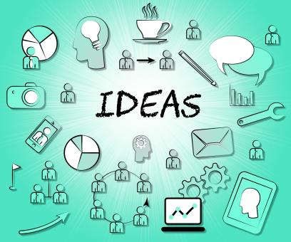 Free Stock Photo of Ideas Icons Means Choices Choose And Think
