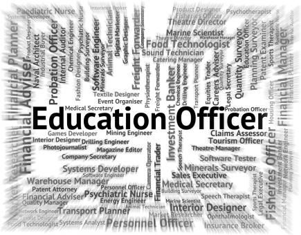 Free Stock Photo of Education Officer Means Occupation Occupations And Educated