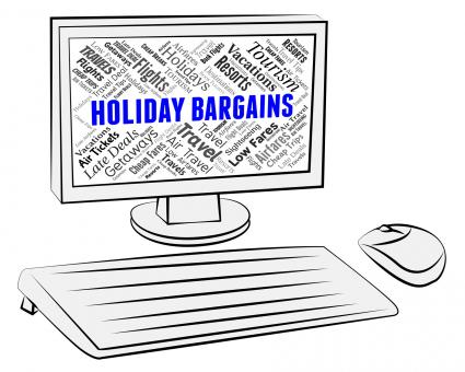Free Stock Photo of Holiday Bargains Indicates Discounts Break And Vacationing