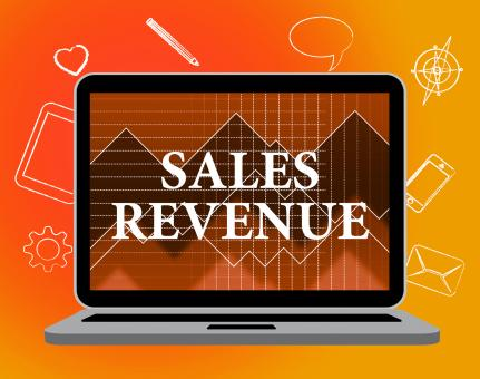 Free Stock Photo of Sales Revenue Represents Wages Profit And Salaries