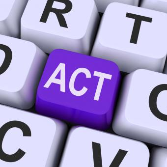 Free Stock Photo of Act key Means Perform Or Acting
