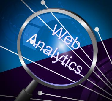 Free Stock Photo of Web Analytics Means Magnifying Research And Information