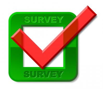 Free Stock Photo of Survey Tick Indicates Confirmed Mark And Surveying