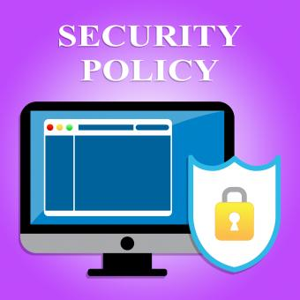 Free Stock Photo of Security Policy Represents Privacy Agreement And Computers