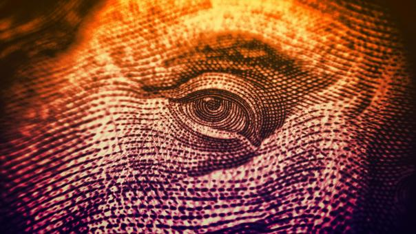 Free Stock Photo of  Eyes on The Dollar - Money and Finance - Colorized