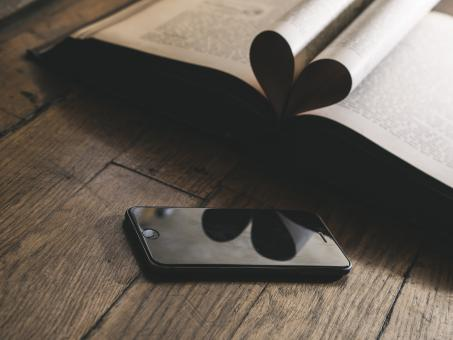 Free Stock Photo of Black I Phone
