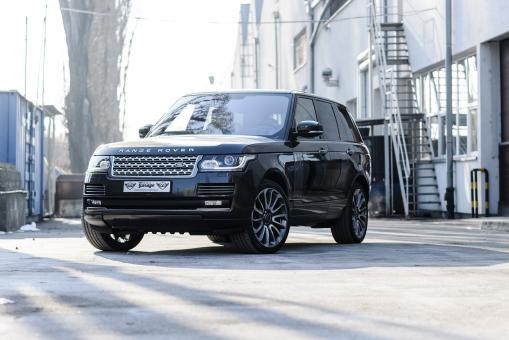 Free Stock Photo of Black Sporty Rover