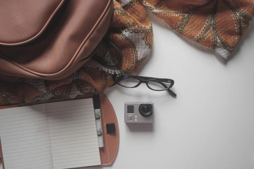 Free Stock Photo of Leather Purse