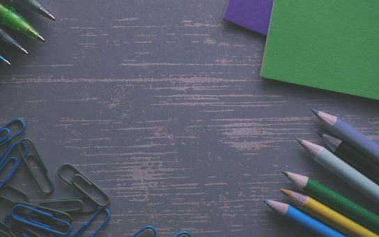 Free Stock Photo of Pencils on the Table