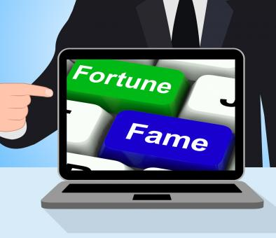 Free Stock Photo of Fortune Fame Keys Displays Wealth Or Publicity