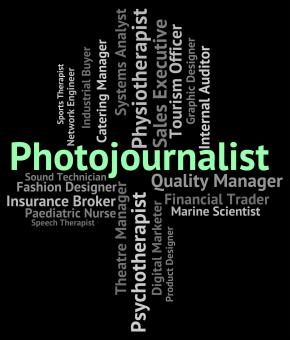 Free Stock Photo of Photojournalist Job Represents War Correspondent And Career