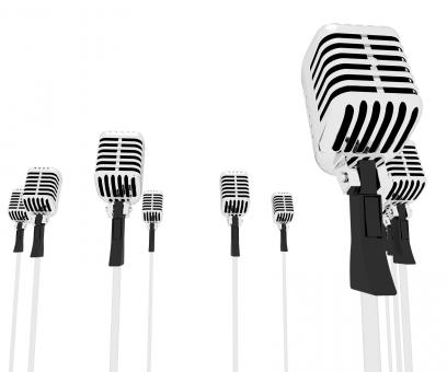 Free Stock Photo of Microphones Speeches Shows Mic Music Performance Or Performing