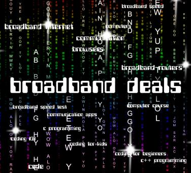 Free Stock Photo of Broadband Deals Shows World Wide Web And Communicate